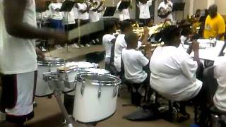 Dillon High marching band 2011-12 summer camp..the butt