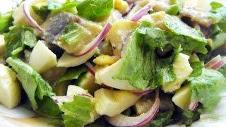 Салат отпад с селедкой   Вкусный рецепт