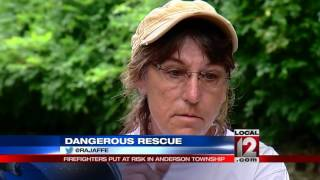 Severe flooding in Anderson Township; multiple people rescued
