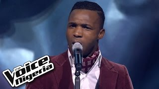 Joe Blue sings 'How Am I Supposed To Live Without You' / Blind Auditions / The Voice Nigeria 2016
