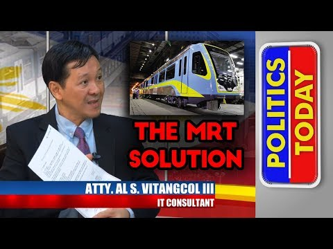 MRT Dalian Trains Work - with Al Vitangcol (Feb 24, 2018 1/2)