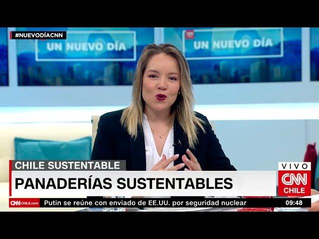 Cata Droguett CNN - Panaderias Sustentables