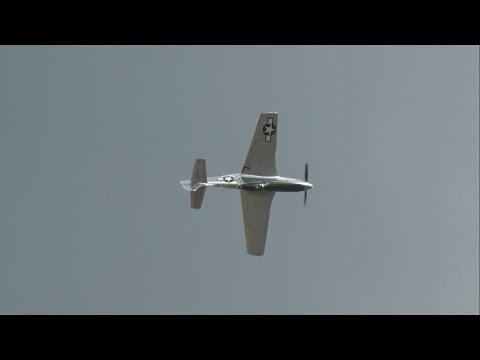 2017 Northeastern Pennsylvania Airshow - Andrew McKenna & P-51D Mustang