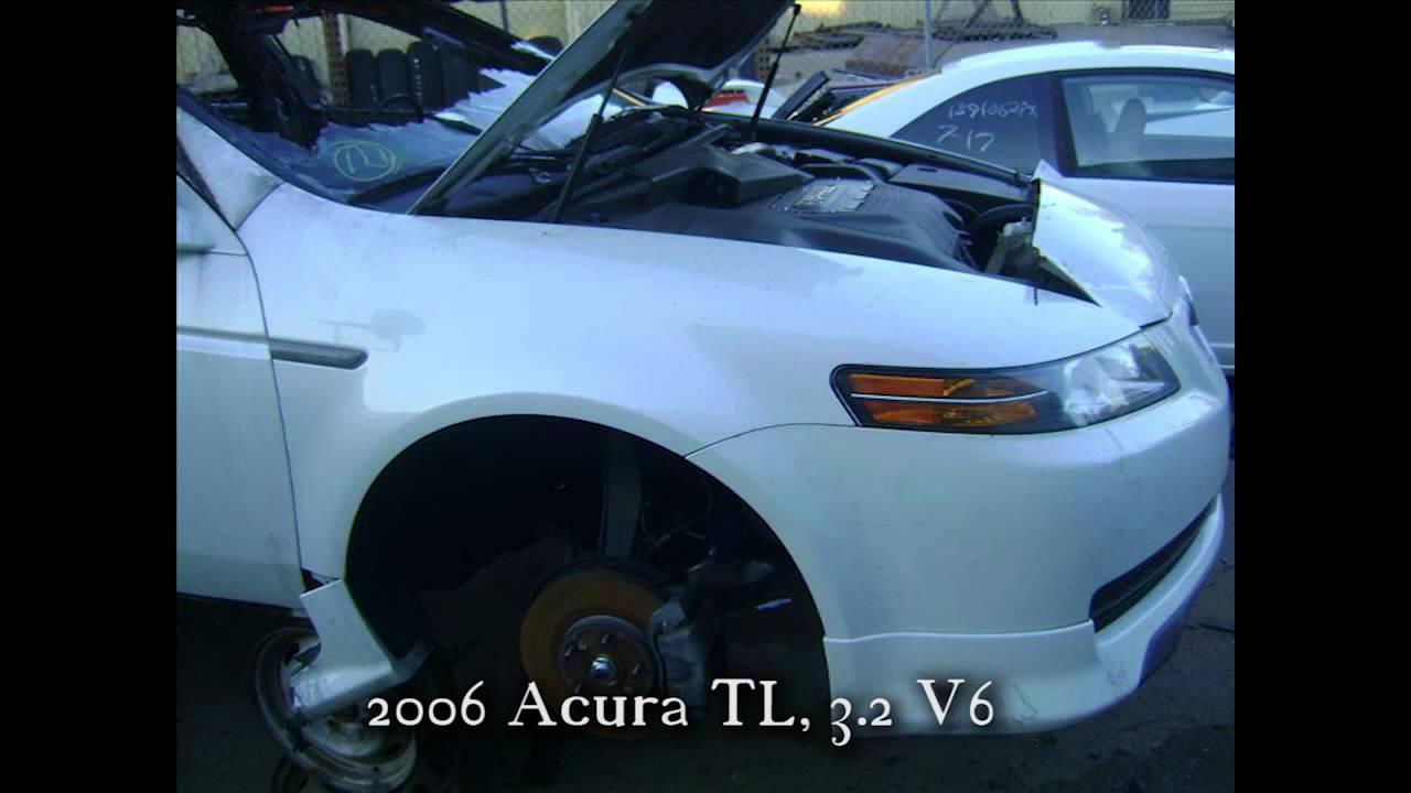 Acura TL Parts AUTO WRECKER RECYCLER Anhdonlinecom Honda Used - Acura tl 2006 parts
