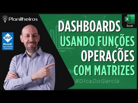 EXCEL 2013 - Montando um pequeno Dashboard / Funções Matriciais / Funções p/ tratar números