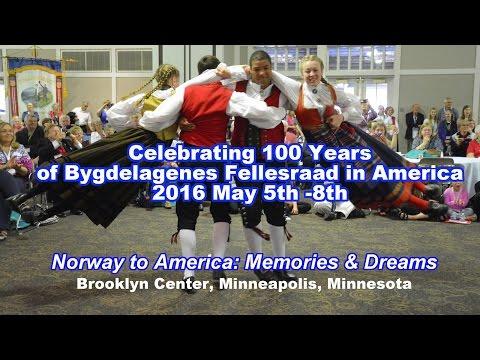 Norwegian-American 100th Celebration of Bygdelagenes Fellesraad 2016