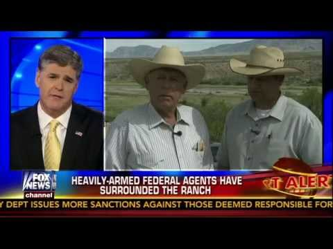 Hannity segment on Cliven Bundy's Ranch 4/11/2014 part 1