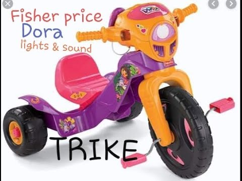Fisher Price Dora Lights & Sounds Trike Review