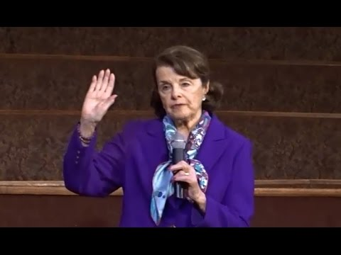 DIANNE FEINSTEIN AND THE DEMOCRATS REMIND AMERICA WHY WE ELECTED DONALD TRUMP.
