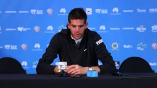 Juan Martin Del Potro press conference (1R) - Apia International Sydney