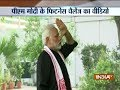 PM Modi takes up fitness challenge given by Virat Kohli, releases video on Twitter
