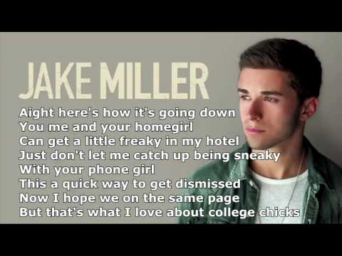 Jake MillerDazed And Confused Lyrics