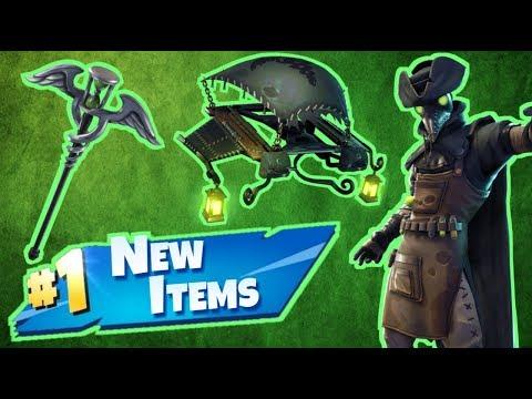 NEW Plague Skins & Items Fortnite Live Stream!