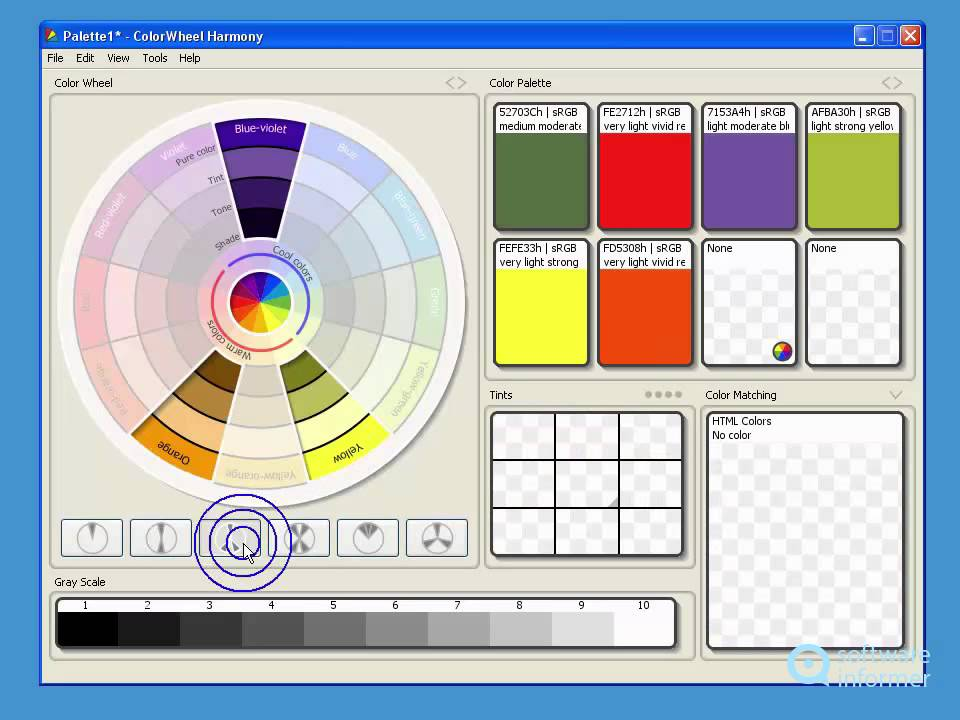 A Quick Look At Colorwheel Harmony Youtube