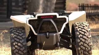 Honda Unveils 3E-D18 Robotic Workhorse at CES 2018