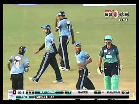 Zahir Siddiqui & Kamran Hussain Bowling Haier T20 Cup 2015