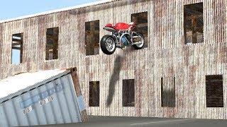 Beamng drive - Impossible Motorbike Stunts