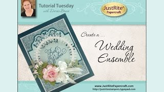 JustRite Papercraft Wedding Ensemble by Darsie Bruno