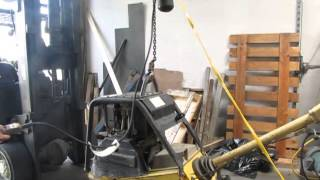 sold cm lodestar 1 ton electric chain hoist 16 fpm model l 10 ft lift