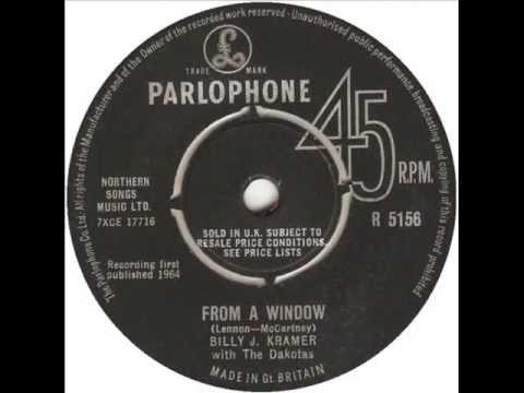 Billy J Kramer with the Dakotas - From a window (1964)