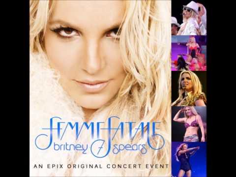 Britney Spears  Toxic The Femme Fatale Tour  Studio Version