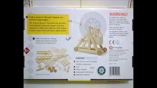 Model Trebuchet   In Action