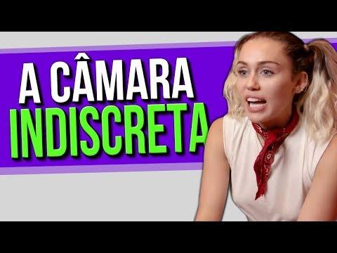 A Câmara Indiscreta com Miley Cyrus