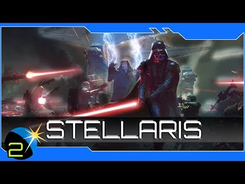 Stellaris - Star Wars Mod - The Rule of Two (Fleets)! Ep 2 4x RTS