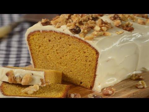Pumpkin Pound Cake Recipe Demonstration - Joyofbaking.com