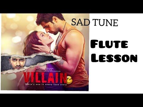 Ek Villain | Sad Flute Tune | Easy Flute Lesson