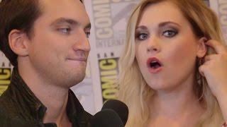 The 100 Cast Reveals Secret Nerdy Cosplay Goals & Tease Season 4 - Comic Con 2016