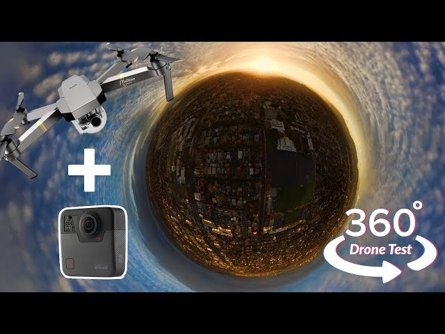 GoPro Fusion 360 + DJI Mavic Pro Platinum - stable without seeing the Drone