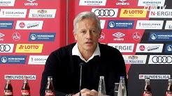 Die Vorstellung des neuen Trainers | Jens Keller | 1. FC Nürnberg