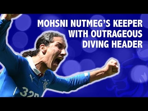 Mohsni nutmeg's keeper with outrageous diving header