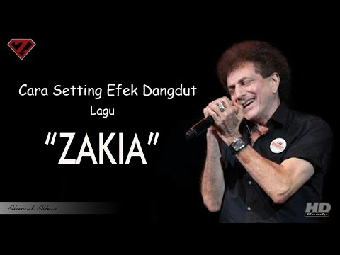 Cara setting efek gitar lagu ZAKIA