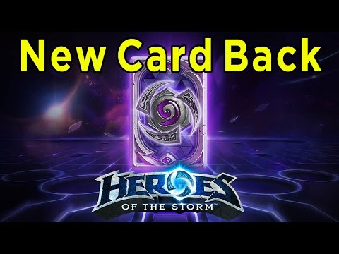 How To Earn The Heroes Of The Storm Card Back In Hearthstone