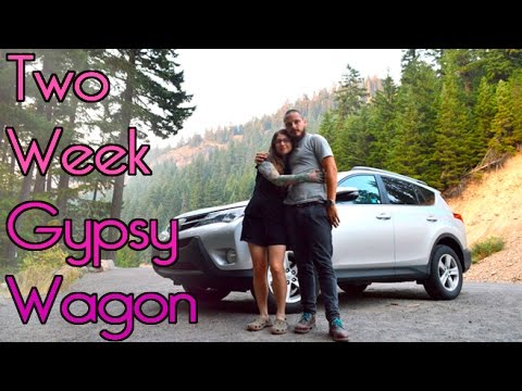 Our Gypsy Wagon Car Camping Adventure
