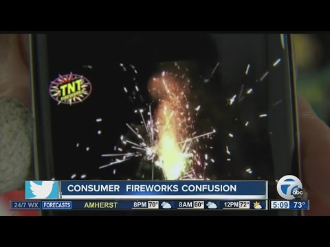 Changes in NYS law causing confusion about fireworks use for consumers