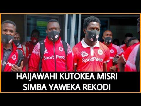 Tazama Timu ya Simba ilvyotua kibabe Misri Mapokezi yake hayajawahi kutokea Africa Nzima