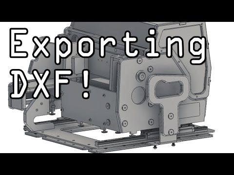Fusion 360: How to Export as DXF File!  Fusion Friday #27