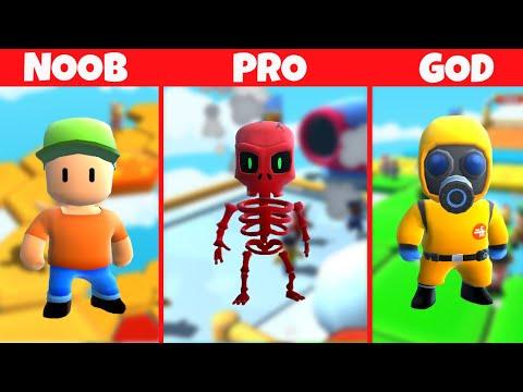 Download NOOB PRO GOD U STUMBLE GUYS-u !