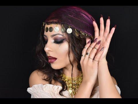 Maquillaje GITANA  Halloween Gypsy Makeup