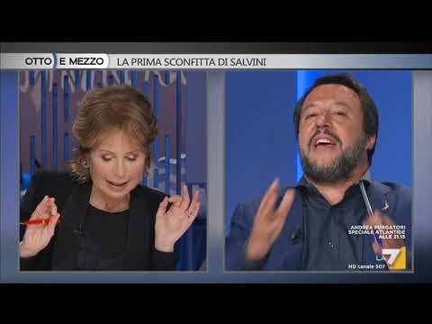Otto e mezzo - La prima sconfitta di Salvini (Puntata 08/05/2019)