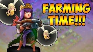 Video de COMO HACER FARMING CLASH OF CLANS/ REINA ARQUERA Y SANADORAS/ ESTRATEGIA FARMING 2016