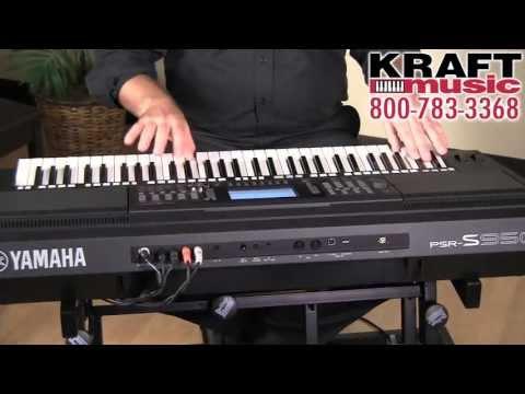 Kraft Music - Yamaha PSR-S950 Arranger Workstation Demo with Matt Schuler