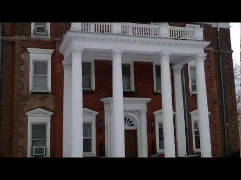 Flag Display at the Barnes Hiscock Mansion, Syracuse, NY   @Syracuse1848