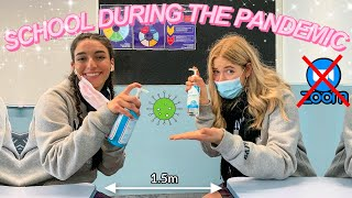 SCHOOL DURING THE PANDEMIC | back to school vlog 2020