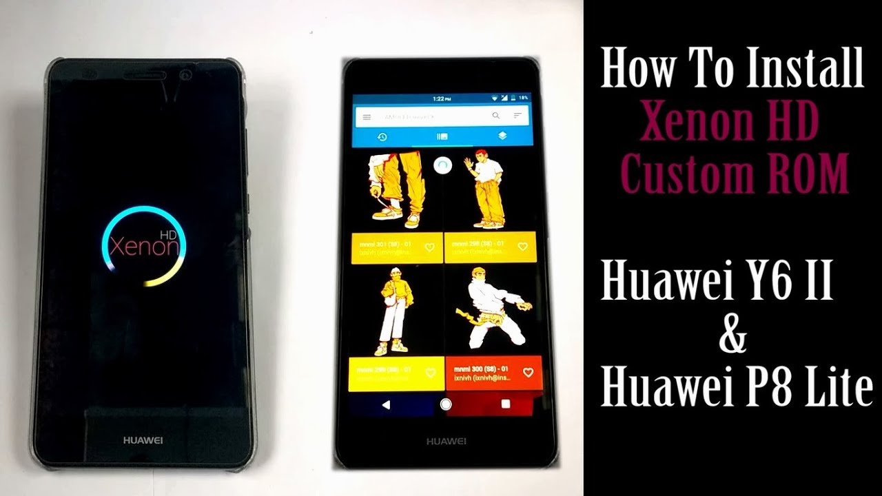 Huawei Y6 Software Installing