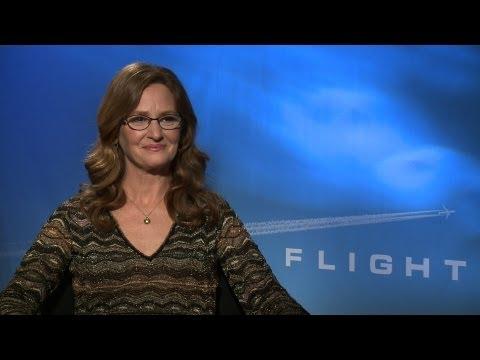 'Flight' Melissa Leo Interview