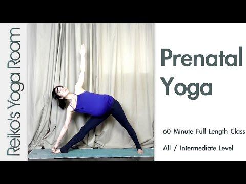 Prenatal Yoga Intermediate 60 Minute Class